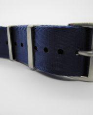 Premium NATO strap Blauw (2)